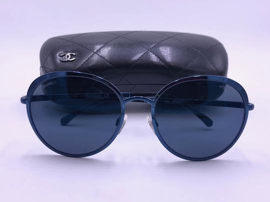 Chanel Chanel Round Mirrored Sunglasses 4206 c.469/z6 ITALY AUTHENTIC Image 10