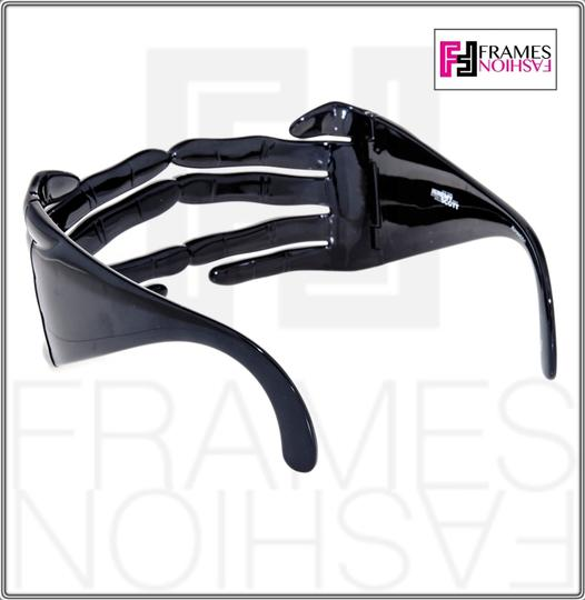 Jeremy Scott LINDA FARROW Jeremy Scott Black Hands Fashion Accessory JS/HANDS Image 3