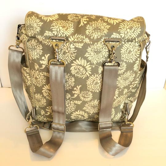 Petunia Pickle Bottom grey Diaper Bag Image 1