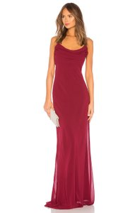 Katie May Bordeaux Eden Gown Sexy Bridesmaid/Mob Dress Size 8 (M)