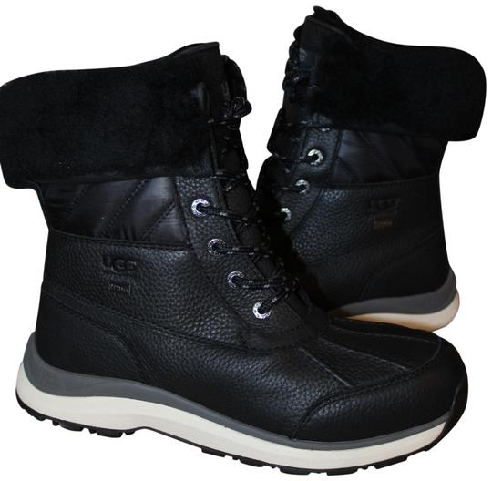 Preload https://img-static.tradesy.com/item/25592840/ugg-australia-black-adirondack-iii-leather-quilted-shearling-snow-bootsbooties-size-us-10-regular-m-0-1-540-540.jpg
