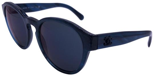 Preload https://img-static.tradesy.com/item/25592863/chanel-transparent-blue-burgundy-mirrored-lens-5359-c1570z6-logo-round-sunglasses-0-1-540-540.jpg