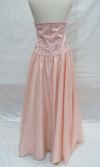 Forever Yours Vintage Long Bridesmaid Dress Image 1