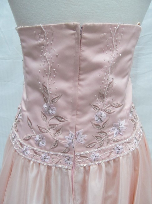 Forever Yours Vintage Long Bridesmaid Dress Image 3