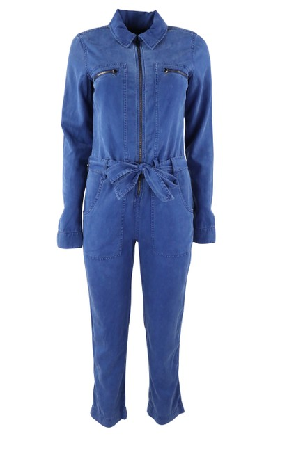 Preload https://item2.tradesy.com/images/hudson-blue-belted-zip-front-twill-romperjumpsuit-25592971-0-0.jpg?width=400&height=650