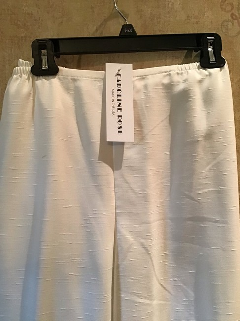 Caroline Rose Straight Pants White Image 1