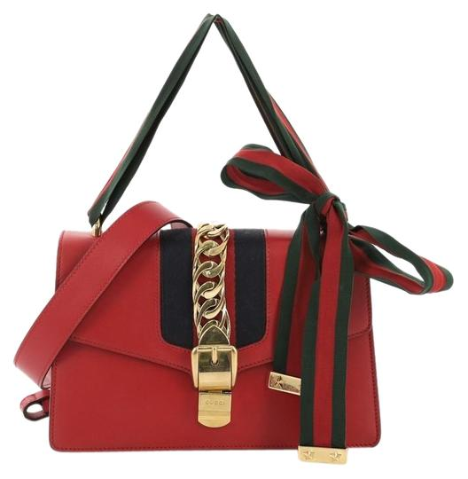 Preload https://img-static.tradesy.com/item/25593007/gucci-sylvie-small-red-leather-shoulder-bag-0-1-540-540.jpg