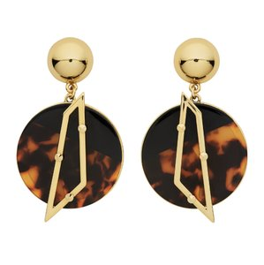 Lulu Frost NEW Lulu Frost for Whistles Tort Circle Earring
