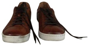 Magnanni Brown Leather Athletic
