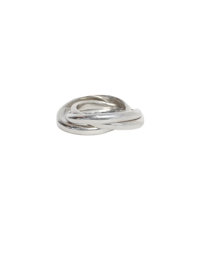 Tiffany & Co. Sterling Silver Trio Rolling Ring Image 2