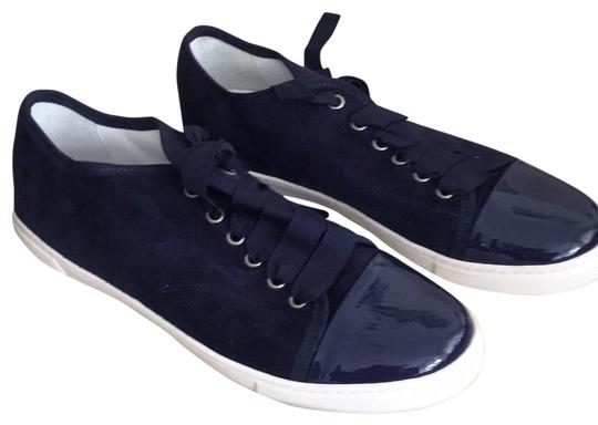 Preload https://img-static.tradesy.com/item/25593304/lanvin-navy-suede-39-lightly-worn-sneakers-size-us-9-regular-m-b-0-1-540-540.jpg