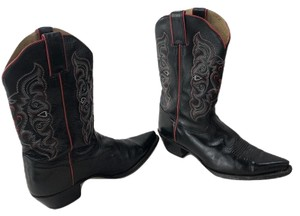 788c005be85 Tony Lama Black and Grey Python 1456l Boots/Booties Size US 7 ...