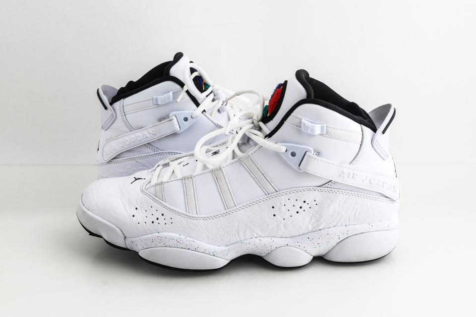 reputable site 42606 75c72 White Jordan 6 Rings Shoes
