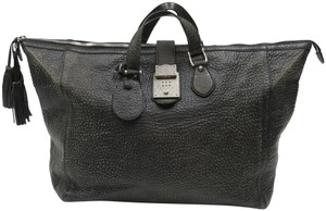 Gucci Guccissima Monogram Supreme Marmont Overnight Grey Silver-Tone Hardware Travel Bag