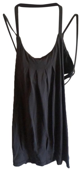 Item - Black Sexy Activewear Top Size 4 (S)