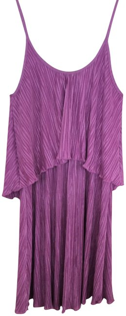 Item - Purple Short Night Out Dress Size 2 (XS)