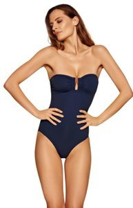 Eres Eres Les Essentiales Cassiopee One Piece U-wire Bandeau Swimsuit