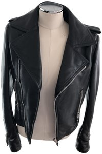 Balenciaga Balenciagamotojacket Leather Jacket