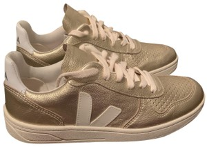 Veja Leather Gold Athletic