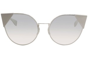 Fendi Fendi 0190/S - 0010IC Cat Eye Silver Palladium Sunglasses