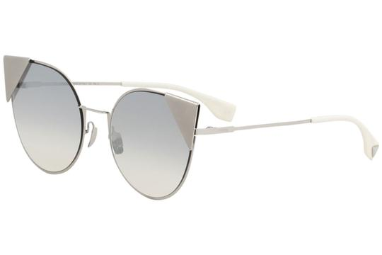 Fendi Fendi 0190/S - 0010IC Cat Eye Silver Palladium Sunglasses Image 1