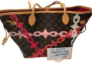 Louis Vuitton Tote in brown pink