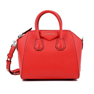 Givenchy Satchel in Poppy Red