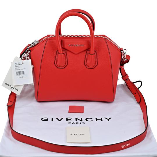Givenchy Satchel in Poppy Red Image 5