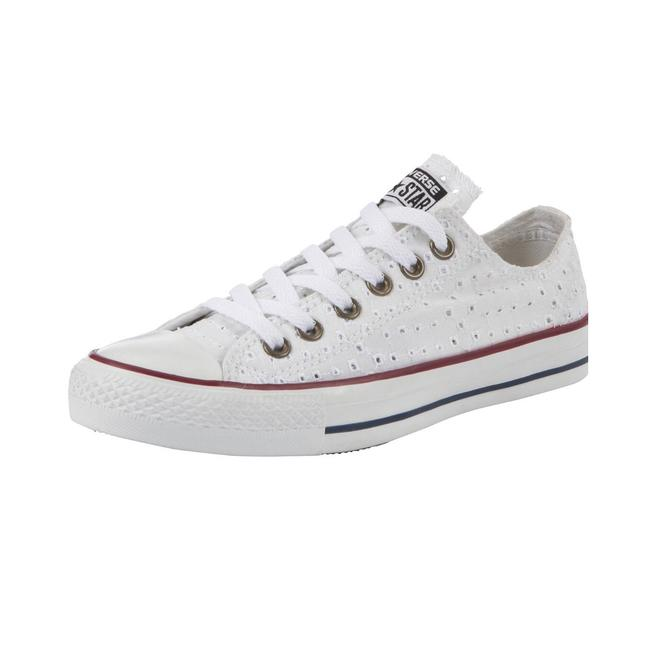 Item - Cut Out Canvas Sneakers Size US 7 Regular (M, B)