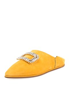 Roger Vivier Yellow Mules