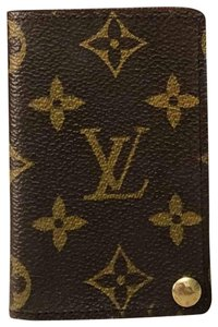 Louis Vuitton Card holder with plastic sleeves