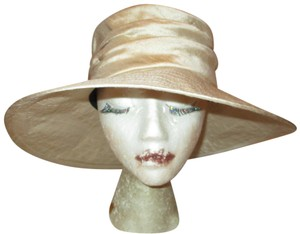 Wayne Wichern Millinery wide brim silk