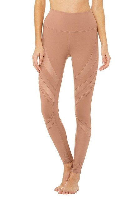 Item - Tan High Waisted Epic Activewear Bottoms Size 6 (S, 28)
