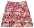 Ann Taylor Red White Black Camel Tan Multicolor Mini Skirt Size 2 (XS, 26) Ann Taylor Red White Black Camel Tan Multicolor Mini Skirt Size 2 (XS, 26) Image 1