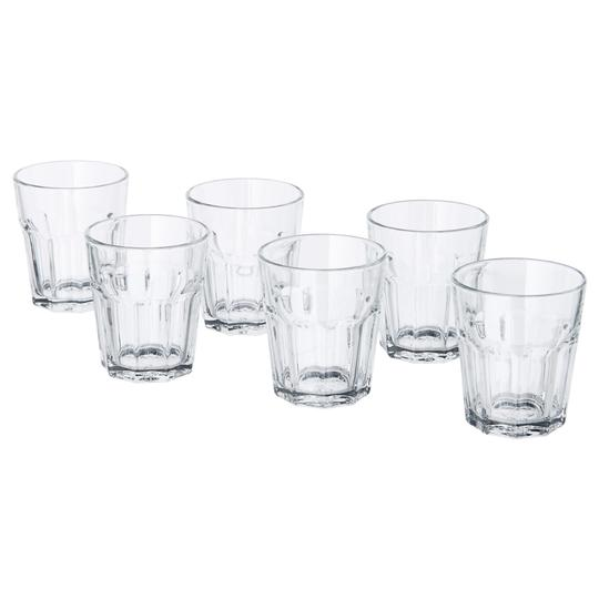 Clear Glass Glassware-cocktail Glasses Water Glasses & Mason Jars Tableware Image 4