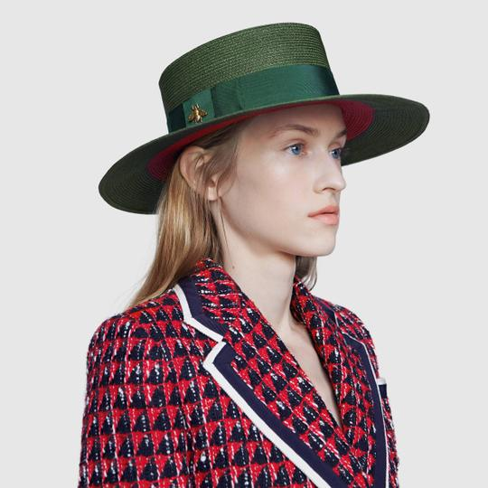Gucci Brand New - Gucci Papier Wide Brimmed Hat - Size Large Image 2