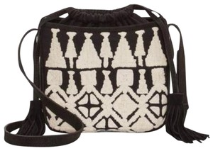 d2880f138 Lucky Brand Canvas Embroidered Cross Body Bag