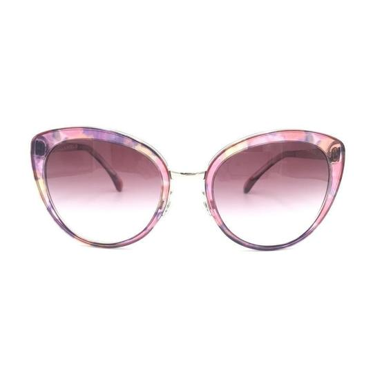 Preload https://img-static.tradesy.com/item/25597959/chanel-multi-color-transparent-pink-silver-cat-eye-gradient-4208-c466s1-sunglasses-0-0-540-540.jpg
