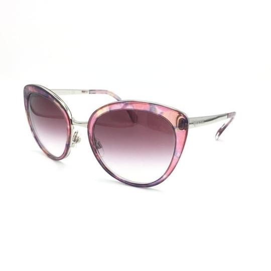 Chanel Cat Eye Transparent Pink Gradient Sunglasses 4208 c.466/S1 Image 1