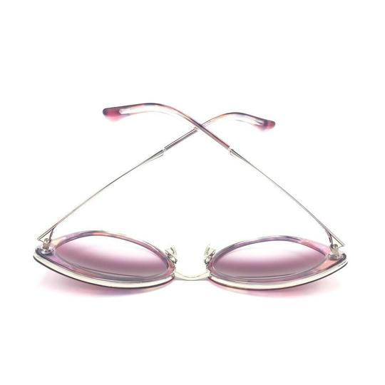 Chanel Cat Eye Transparent Pink Gradient Sunglasses 4208 c.466/S1 Image 7