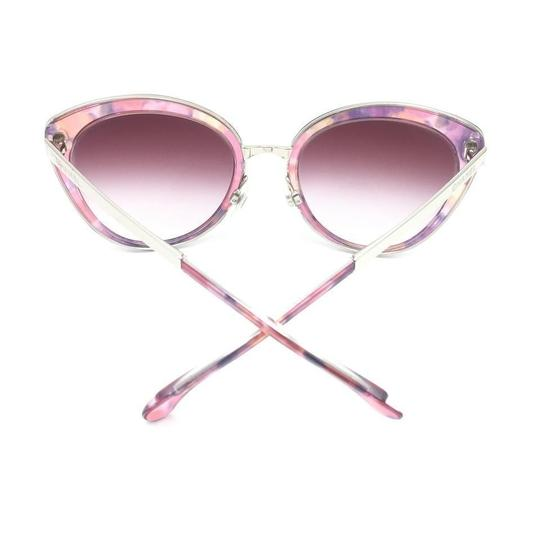 Chanel Cat Eye Transparent Pink Gradient Sunglasses 4208 c.466/S1 Image 8
