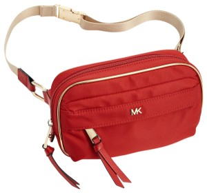 Michael Kors Michael Kors Nylon Utility Belt Bag Fanny Pack Red