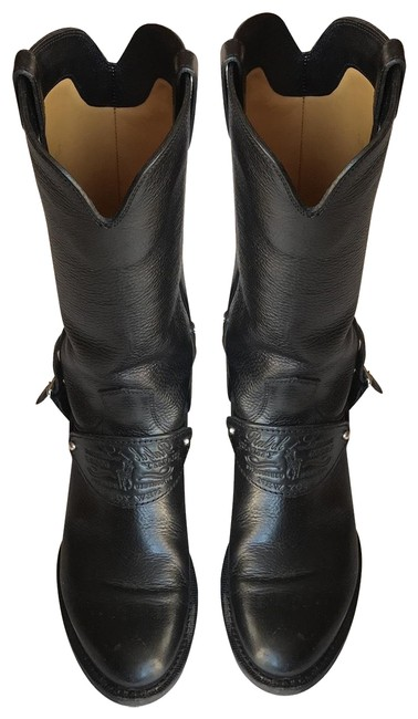 Item - Black Leather Riding Boots/Booties Size US 6.5 Regular (M, B)