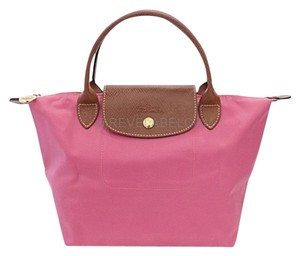 Longchamp Tote in Peony / Pink