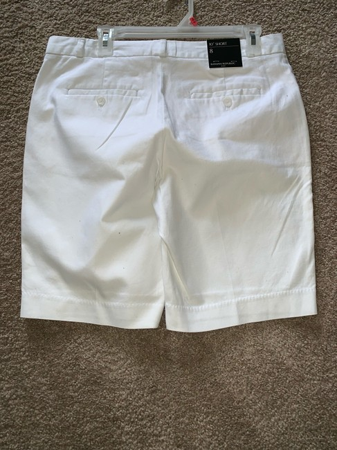 Banana Republic Cargo Shorts WHITE Image 2