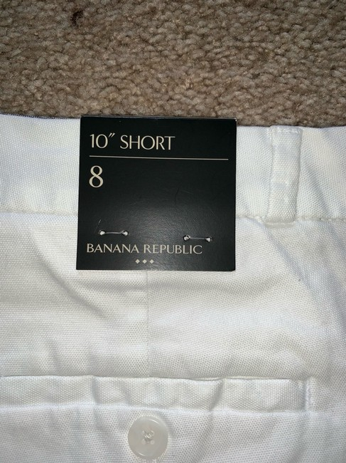 Banana Republic Cargo Shorts WHITE Image 5