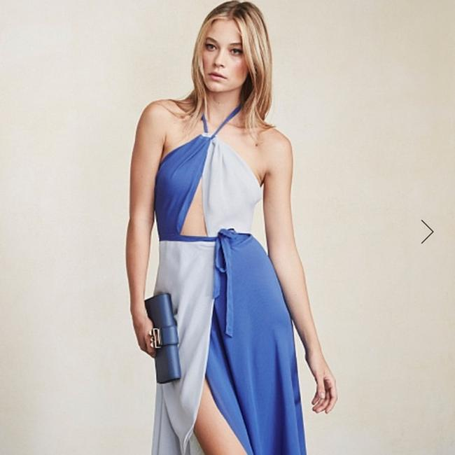 country blue Maxi Dress by Reformation Image 2