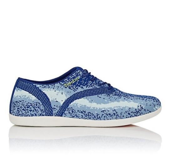 Repetto Oxford Tech-knit Barneys Blue and white Athletic Image 2