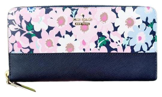 Preload https://img-static.tradesy.com/item/25599917/kate-spade-multicolor-cameron-street-lacey-large-zip-around-floral-wallet-0-1-540-540.jpg