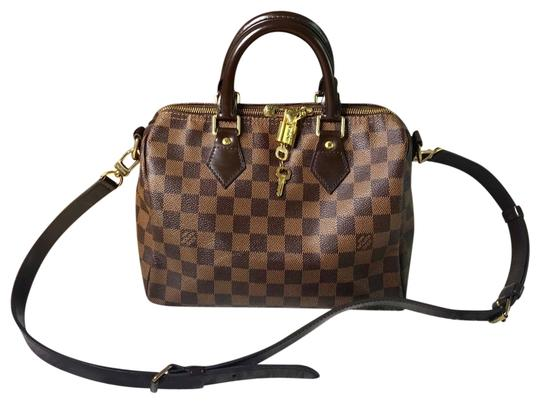Preload https://img-static.tradesy.com/item/25599936/louis-vuitton-speedy-damier-ebene-bandouliere-25-brown-canvas-cross-body-bag-0-2-540-540.jpg